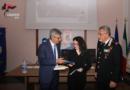 """Bari –  Consegna premio """"Mario La Pesa""""."""