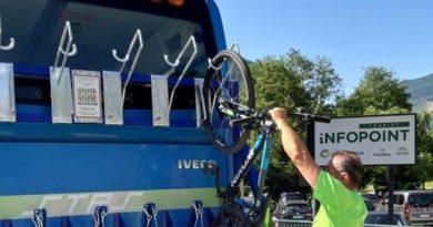 """Attivo fino al 31 agosto il servizio """"Con la bici in Valmalenco"""""""