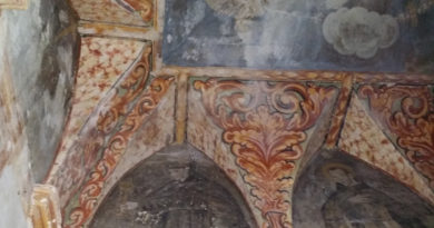 Nel Monastero del Soccorso affreschi in degrado La cappella del '500 richiede urgente restauro conservativo
